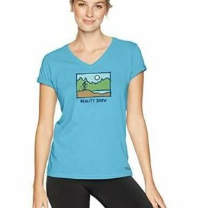 Life is Good Womens T-Shirt Reality Show